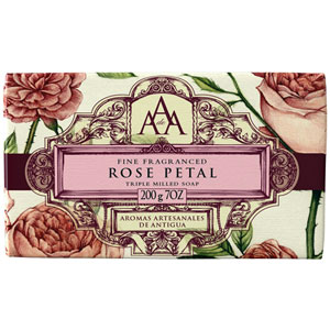 Aromas Artesanales de Antigua - Rose Petal Triple Milled Soap