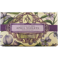 Aromas Artesanales de Antigua - April Violets Triple Milled Soap