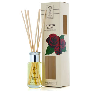 Earth Secrets - Reed Diffuser - Winter Rose