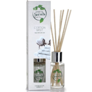 Earth Secrets - Reed Diffuser - Cotton Mist