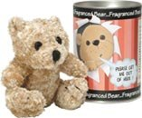 Ashleigh & Burwood - Fragranced Bear in a tin (Boris)