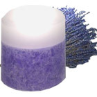 Ashleigh & Burwood - Translucent-Top Pillar Candle - Lavender Mist