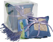 Ashleigh & Burwood - Lavender Scented Cushion Stack