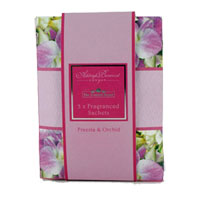 Ashleigh & Burwood The Scented Home - Fragranced Sachets - Freesia & Orchid