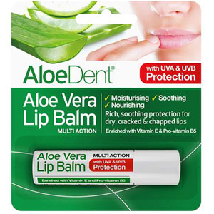 AloeDent - Aloe Vera Lip Balm Multi-Action