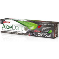 AloeDent - Aloe Vera Triple Action Charcoal Toothpaste