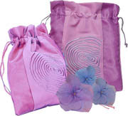 Aroma Home - Scented Silk Knicker Bag - Lavender