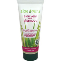 Aloe Pura - Aloe Vera Herbal Shampoo - Normal/Frequent Use