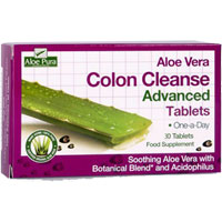 Aloe Pura - Colon Cleanse Advanced Tablets