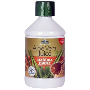 Aloe Pura - Bio Active Aloe Vera Juice with Manuka Honey