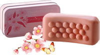 Asquith & Somerset - Cherry Blossom Exfoliating Massage Bar