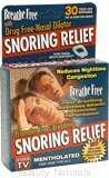 Breathe Free - Snoring Relief Nasal Dilators (Unscented)