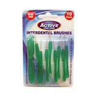 Active Oral Care - Interdental Brushes - 0.45mm