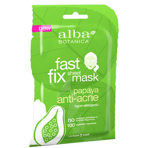 Alba Botanica - Papaya Anti-Acne Sheet Mask