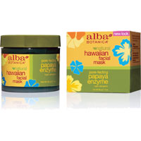 Alba Botanica - Hawaiian Facial Mask -  Papaya Enzyme