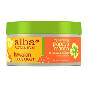 Alba Botanica - Hawaiian Body Cream - Papaya Mango