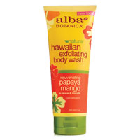 Alba Botanica - Hawaiian Exfoliating Body Wash - Papaya Mango