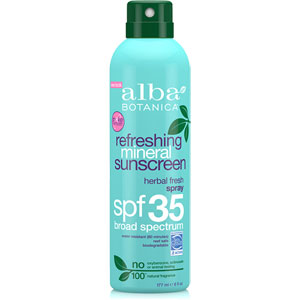 Alba Botanica - Refreshing Mineral Herbal Sunscreen - SPF 35