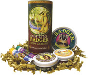 Badger - Earthy Body Care Kit