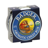 Badger - Aromatic Chest Rub