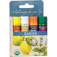 Badger - Classic Lip Balm Gift Packs