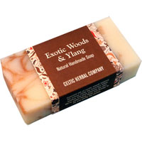 Celtic Herbal - Exotic Woods & Ylang Soap