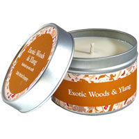 Celtic Herbal - Exotic Woods & Ylang Candle