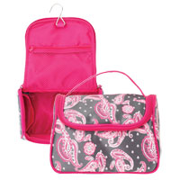Danielle Creations - Paisley Zip Train Case with Handle