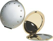 Danielle Creations - Crystal Compact Mirror