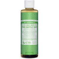 18-in-1 Hemp Green Tea Pure Castile Soap|6.9900|6.9900
