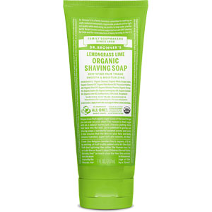 Dr. Bronner's - Organic Shaving Soap - Lemongrass Lime