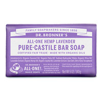All-One Hemp Pure-Castile Bar Soap - Lavender|4.4900|4.4900