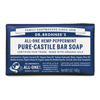 All-One Hemp Pure-Castile Bar Soap - Peppermint|4.4900|4.4900