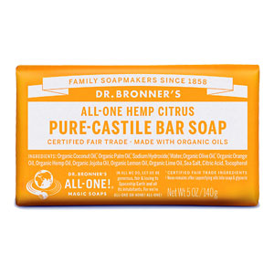 Dr. Bronner's - All-One Hemp Pure-Castile Bar Soap - Citrus