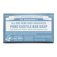 All-One Hemp Baby Pure-Castile Bar Soap - Unscented|4.4900|4.4900