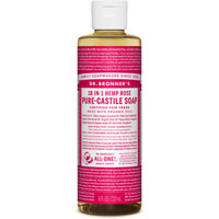 Dr. Bronner's - 18-in-1 Hemp Rose Pure Castile Soap