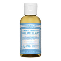 Dr. Bronner's - 18-in-1 Hemp Baby Unscented Pure-Castile Soap