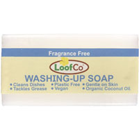 Loofco Loofco - Washing Up Soap Bar - Fragrance Free