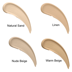 Flawless Matte Foundation - Colour Chart
