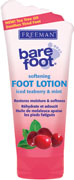 Freeman Bare Foot - Iced Teaberry & Mint Softening Foot Lotion