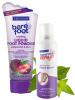 Freeman Bare Foot - Cooling Foot Care Duo