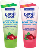 Freeman Bare Foot - Iced Teaberry & Mint Foot Care Duo