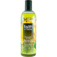 Faith In Nature - Pineapple & Lime Shower Gel & Foam Bath
