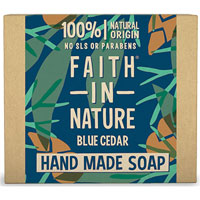 Faith In Nature - Faith For Men Blue Cedar Soap