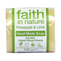 Pineapple & Lime Hand Made Soap|1.9500|1.9500