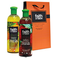 Faith In Nature - Uplifting Fruits Shower Gel Gift Set
