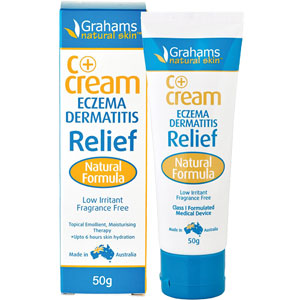 Grahams Natural - C+ Cream Eczema Dermatitis Relief