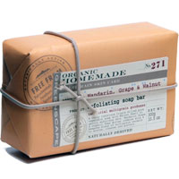 Greenscape Organic - Mandarin, Grape & Walnut Exfoliating Soap Bar
