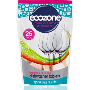 Ecozone - Brilliance All in One Dishwasher Tabs