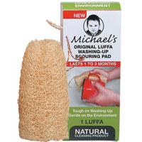 Michael's - Original Luffa Washing Up Scouring Pad